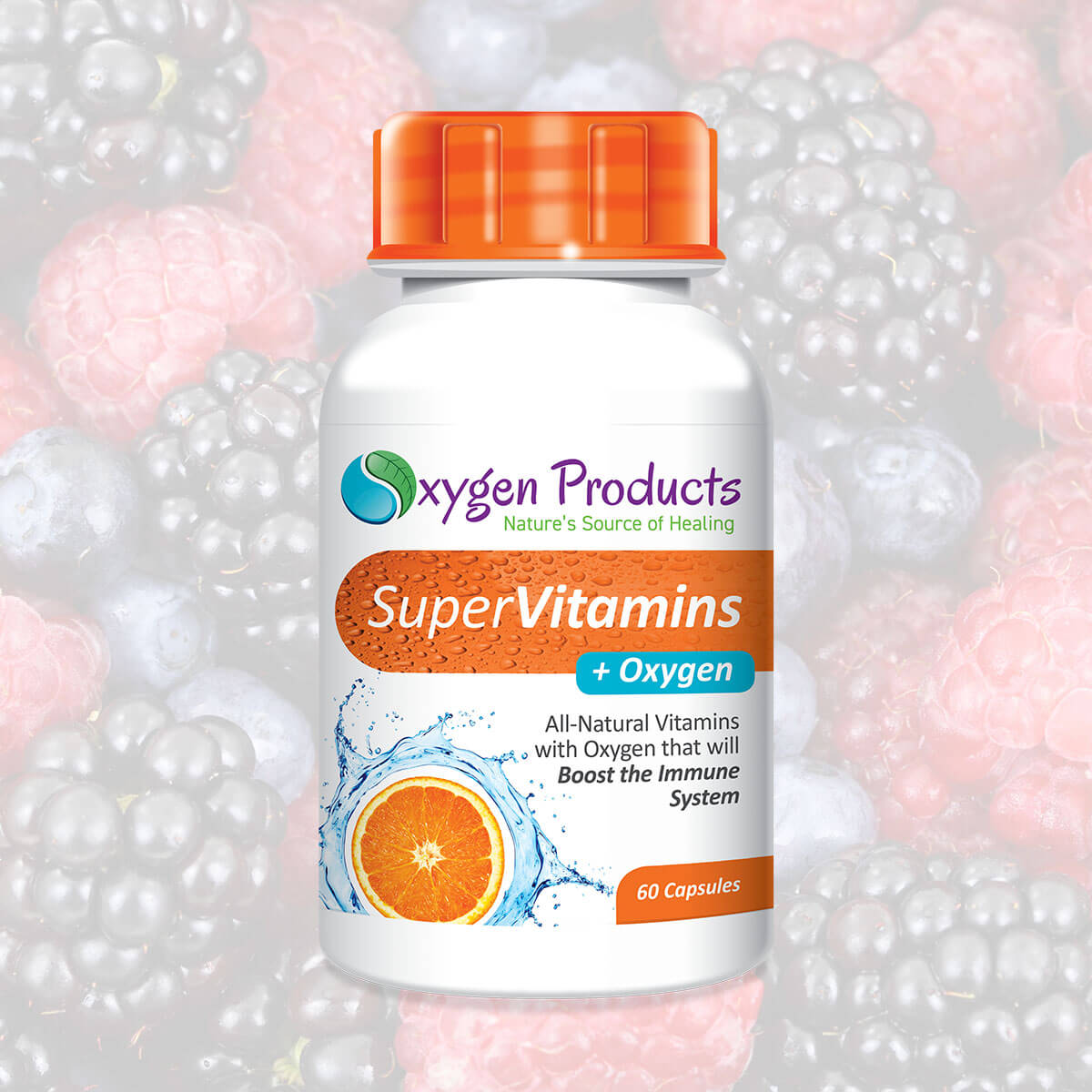Super Vitamins + Oxygen Home Image